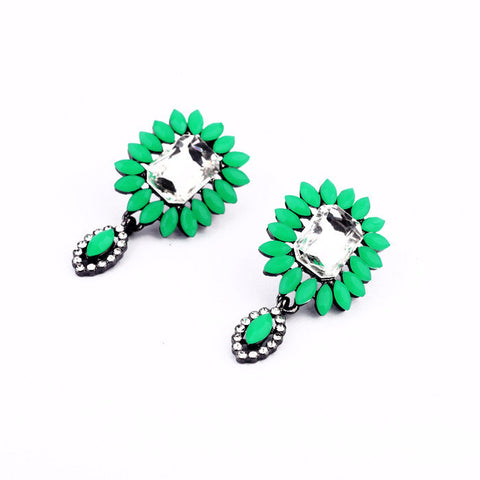 Elegant Trendy Flora Stud Earrings