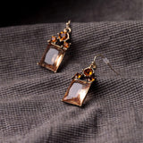 BLISSER GLASSI DROP EARRINGS - SWANL
