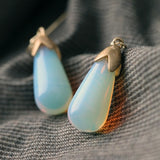 BLOOP DROP INNER GLOW DROP EARRINGS | SWANL