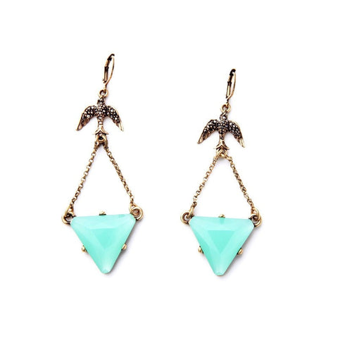 PALM GROVE DROP EARRINGS - SWANL