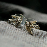 NIGHTINGALE STUD EARRINGS - SWANL