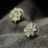 DIXIE FLOWER STUD EARRINGS | SWANL