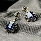 NEW WATERS BLUE DROP EARRINGS - SWANL