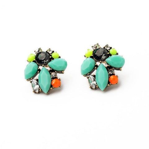 JUSTILY BRINCOS STUD EARRINGS | SWANL