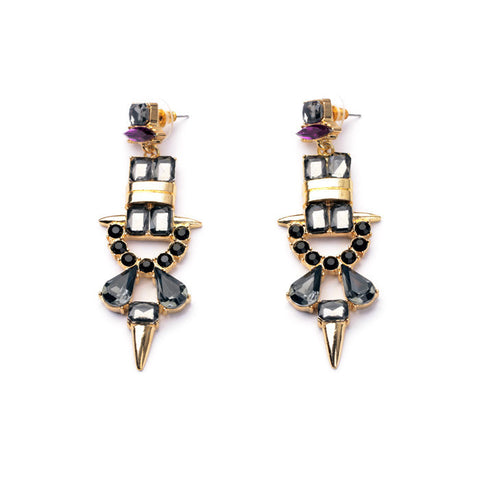 STRIKER STATEMENT EARRINGS | SWANL
