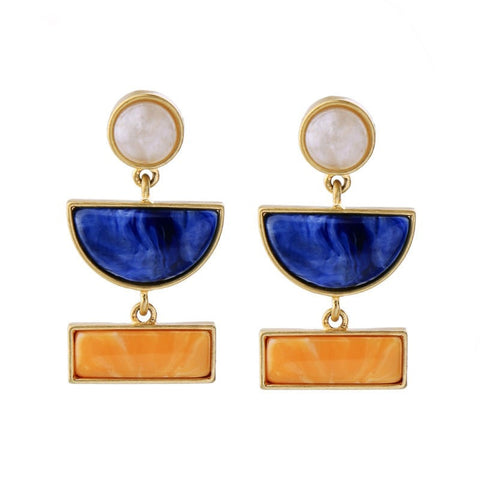 Lilliput Colorful Statement Earrings | SWANL