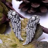 SWANL WINGS STUD EARRINGS | SWANL