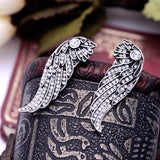 SWANL WINGS STUD EARRINGS - SWANL