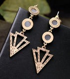 DIVINITY ARROW STATEMENT EARRINGS | SWANL