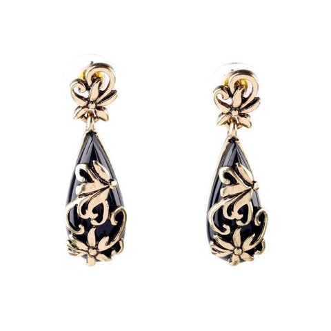 BLACKIE DUKE STATEMENT EARRINGS - SWANL