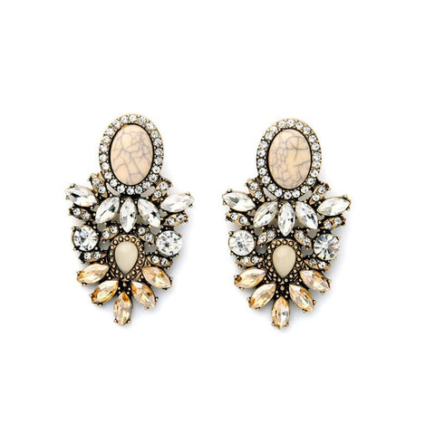 CLARA STATEMENT DROP EARRINGS