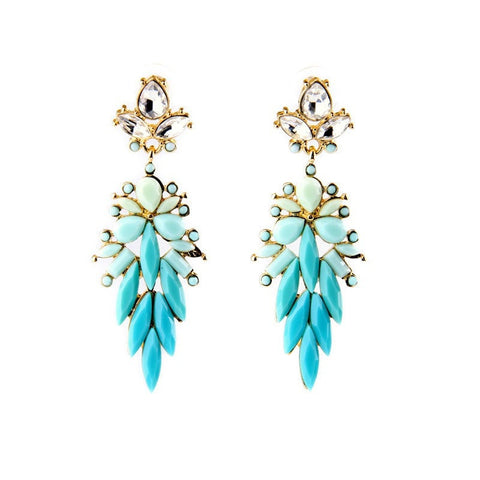 LESLIE DROP STATEMENT EARRINGS | SWANL