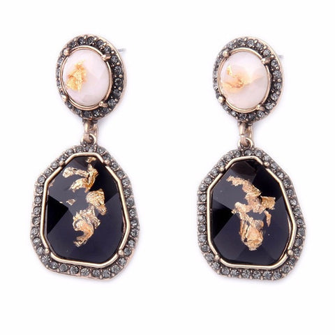 COAL GOLD EARRINGS - SWANL