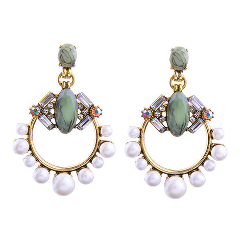 Lord Ring Classic Fusion Dangler Earrings | SWANL