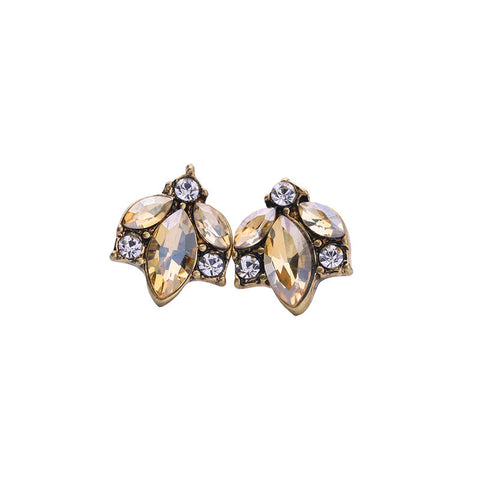 Jerry Crystal Small Stud Earrings