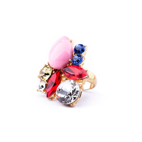 VOGUE DROPLET STATEMENT RING | SWANL