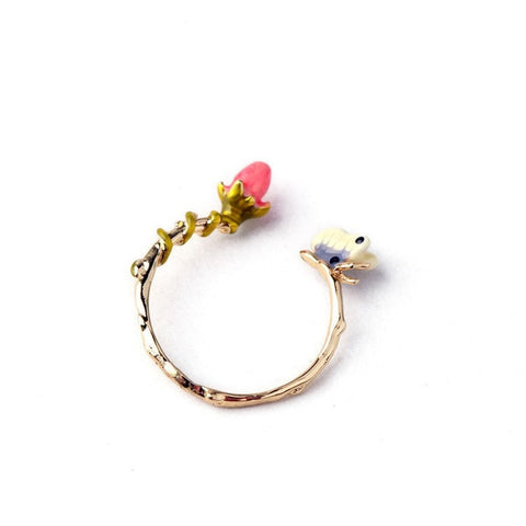 DUTCH DREAM ASSYMETRIC ADJUSTABLE RING | SWANL