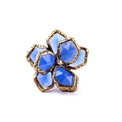 MIDSPRING BLUME STATEMENT RING - SWANL