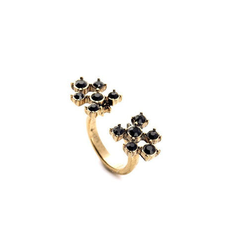 DOT MATRIX ADJUSTABLE RING | SWANL