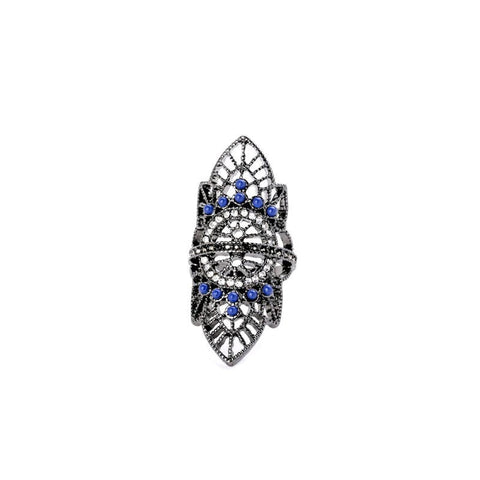 NIGHTLIFE CLUB RETRO BOHO RING - SWANL