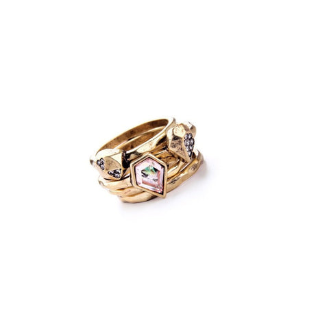 AMERICAN NEW SWAN 5 RING SET - SWANL