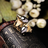 ANTLIER SPIKE STATEMENT RING | SWANL