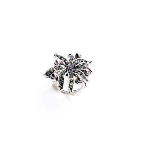 OUTFLOWER STATEMENT RING - SWANL