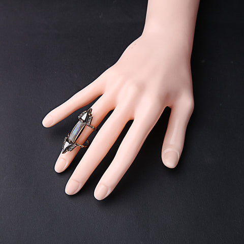 New Design Double Vintage Women Ring