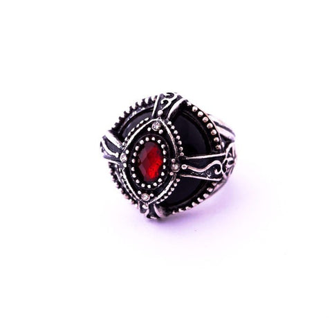 BLACK MIST STATEMENT RING - SWANL