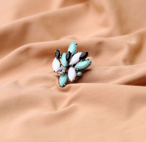 Alpha Vintage Statement Ring