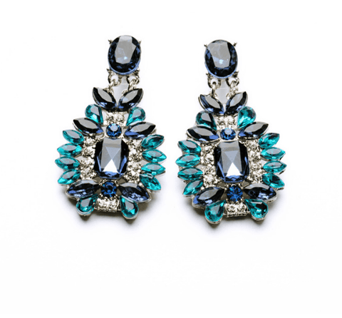 ACQUA STATEMENT EARRINGS - SWANL