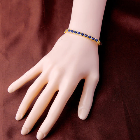 Gorgeous Blue Crystal Bracelet