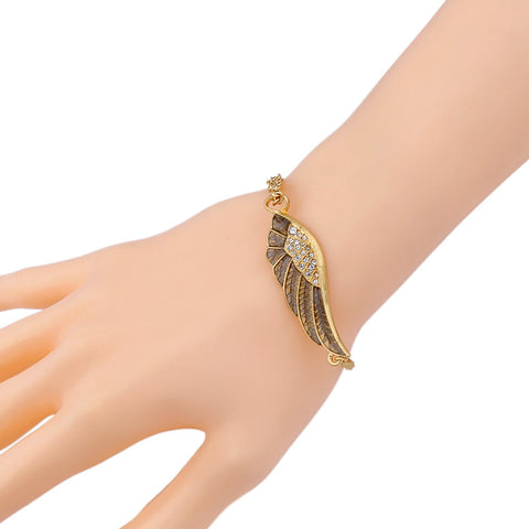 Wings Golden Bracelet | SWANL