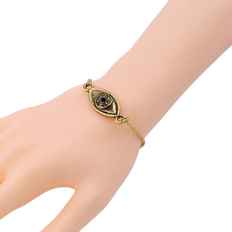 Eye Golden Bracelet