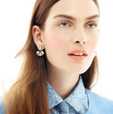 EXQUISITE VINTAGE SMALL STUD EARRINGS - SWANL