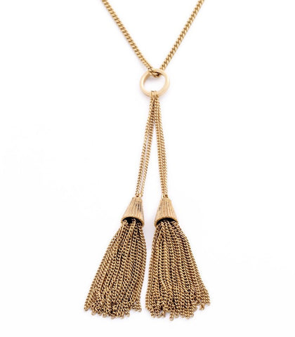 CHLOE SAND PENDANT NECKLACE | SWANL