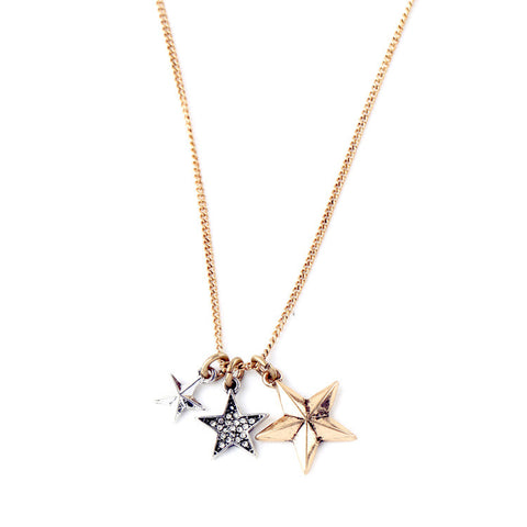 Star Shower Layer Necklace