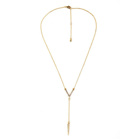 LIAM ARROW DANGLER PENDANT NECKLACE - SWANL
