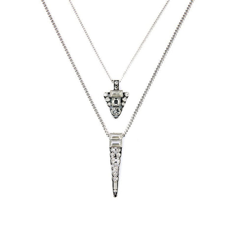 NILER STATEMENT PENDANT NECKLACE - SWANL