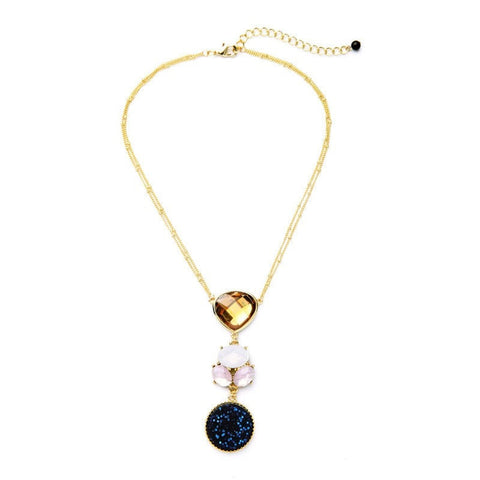 DELSEY STATEMENT NECKLACE | SWANL