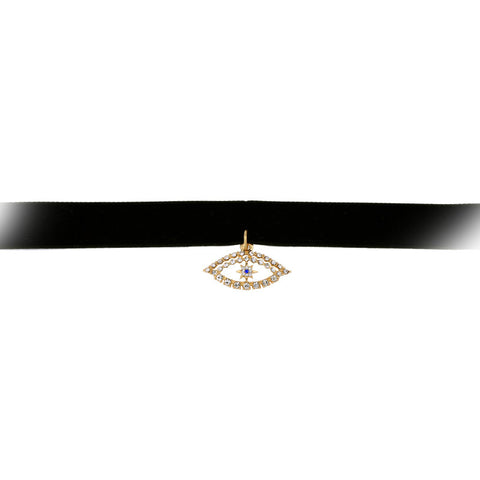 Eyestar Choker Necklace