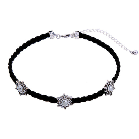 Sun Star Choker Necklace | SWANL