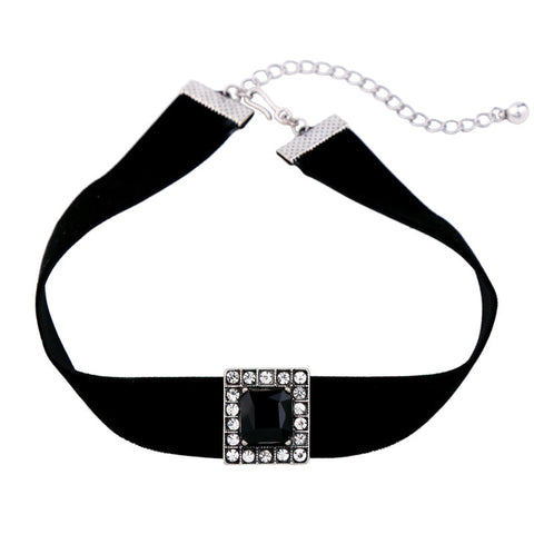 Square Onix Choker Necklace | SWANL