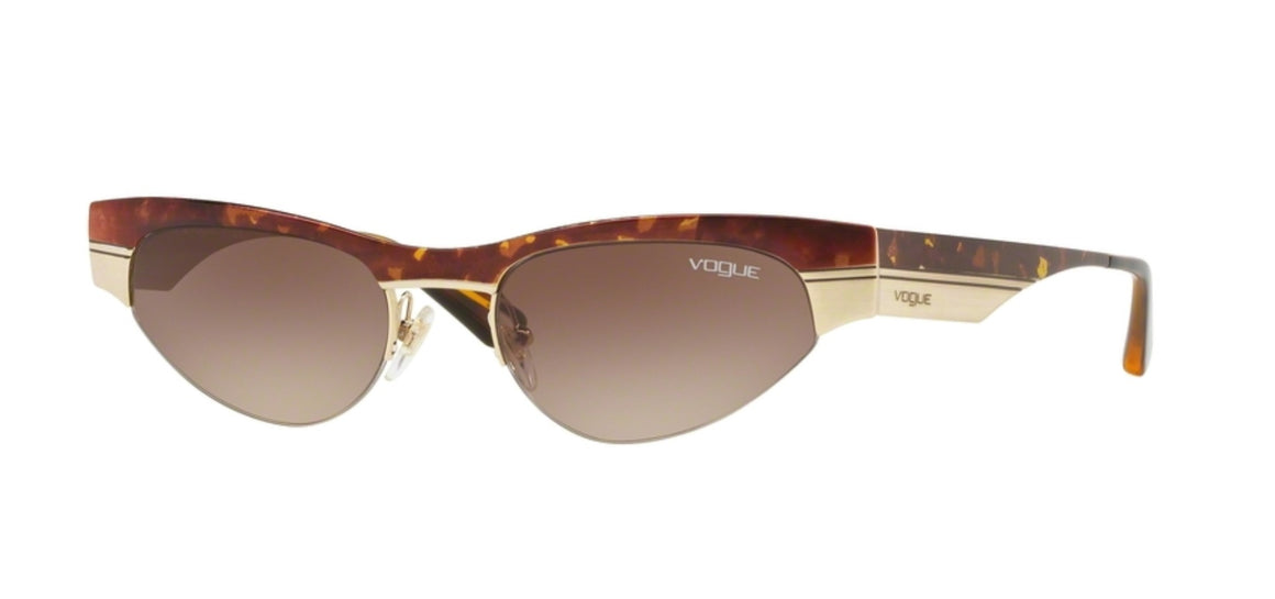 789f7a8513 Vogue 4105 Havana and Pale Gold - Specs Appeal Eyewear