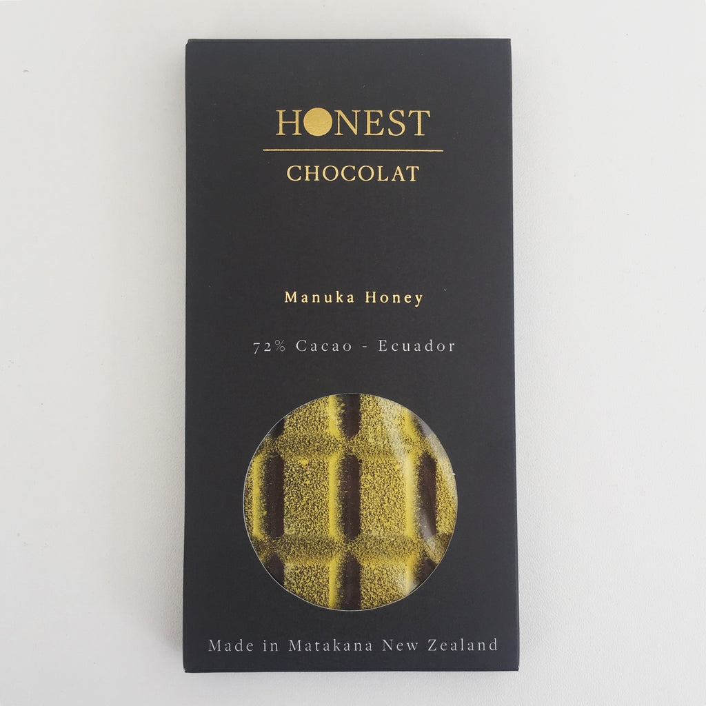 Manuka Honey Filled Tablet - 72% Cacao