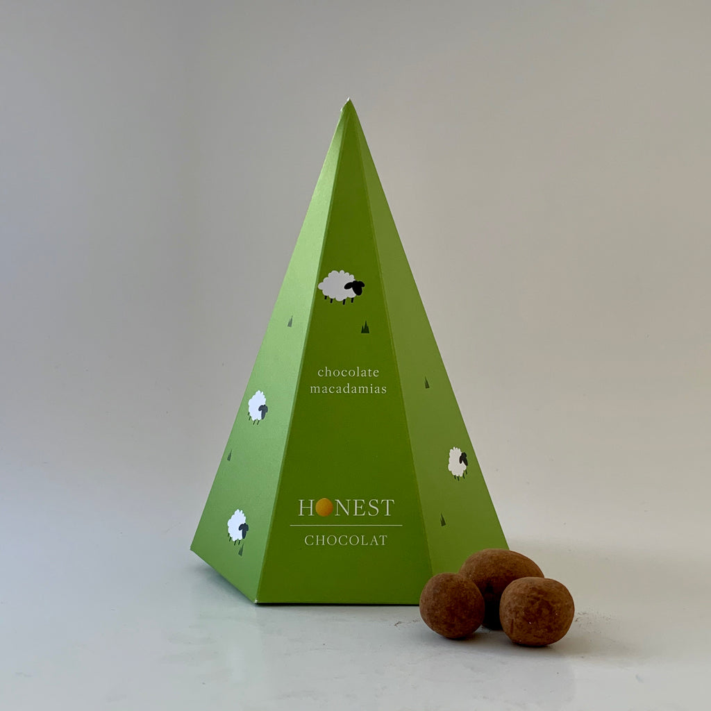 Dark Chocolate Macadamias Sheep Gift Box