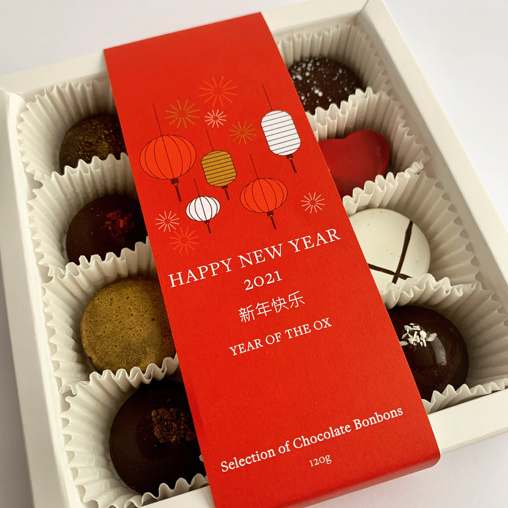 Lunar New Year Box of 12 Bonbons