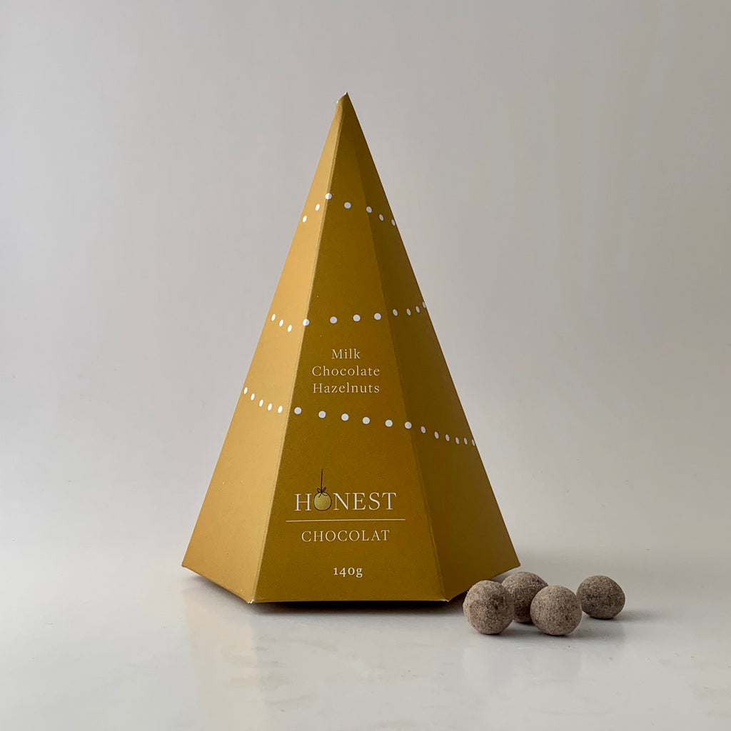 Milk Chocolate Hazelnuts Christmas Tree
