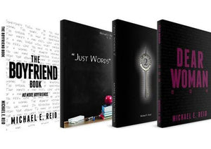 4 Book Bundle (Just Words, Just Words 2, Dear Woman, The Boyfriend Book)