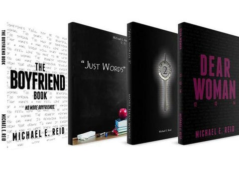 Autographed 4 Book Bundle (Just Words, Just Words 2, Dear Woman, The Boyfriend Book)